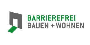 """Logo """"Barrierefrei Bauen + Wohnen"""""""